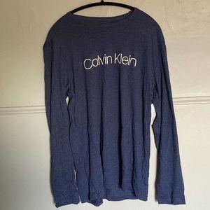Calvin Klein Men's Sleepwear Long Sleeve T-Shirt